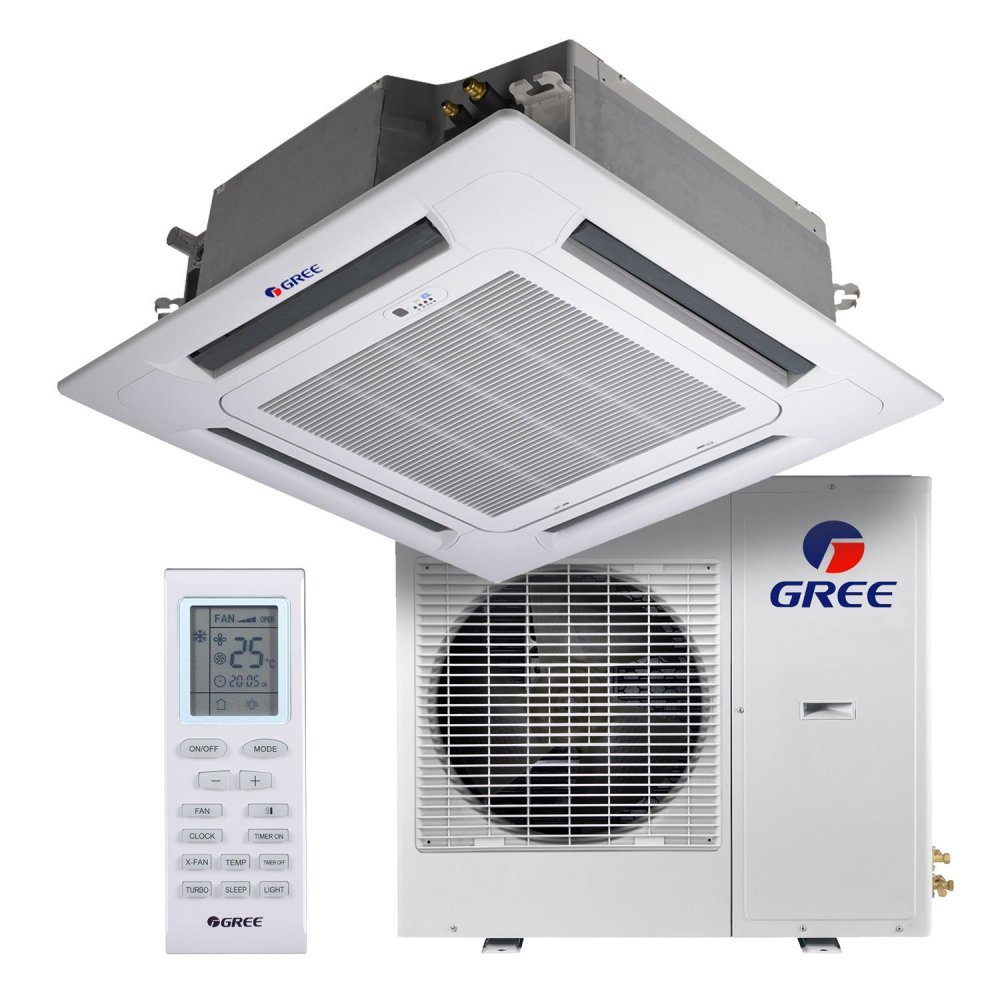 Кассетный кондиционер Gree GKH36K3FI/GUHD36NM3FO U-Match Inverter