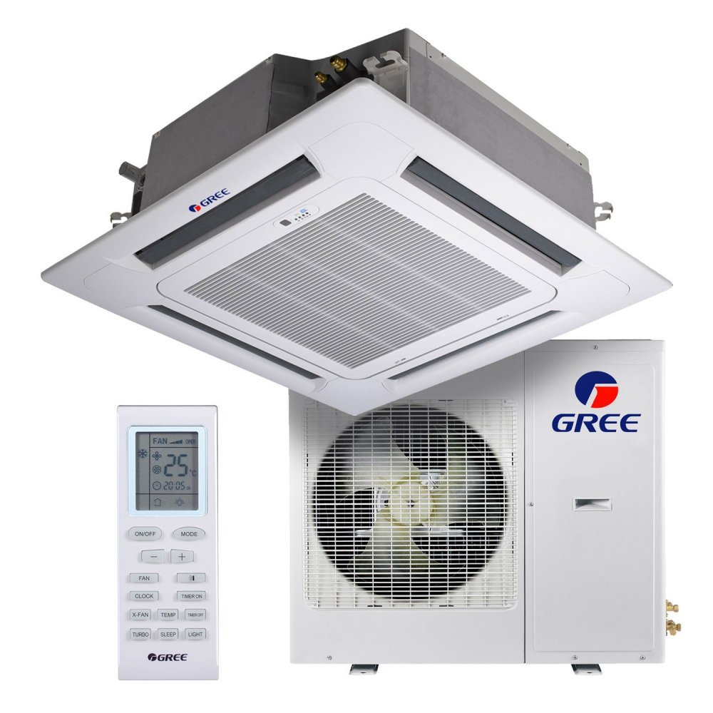 Кассетный кондиционер Gree GKH42K3FI/GUHD42NM3FO U-Match Inverter