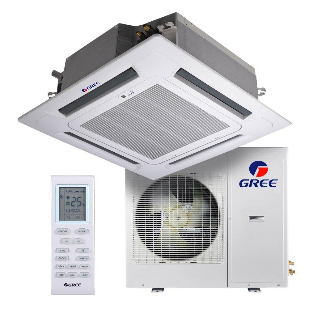 Касетний кондиціонер Gree GKH42K3FI/GUHD42NM3FO U-Match Inverter