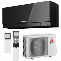 Кондиционер Mitsubishi Electric DESIGN INVERTER (Black) MSZ-EF25VE3B/MUZ-EF25VE image