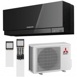 Кондиционер Mitsubishi Electric DESIGN INVERTER (Black) MSZ-EF25VE3B/MUZ-EF25VE
