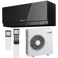 Кондиционер Mitsubishi Electric DESIGN INVERTER (Black) MSZ-EF50VE3B/MUZ-EF50VE image