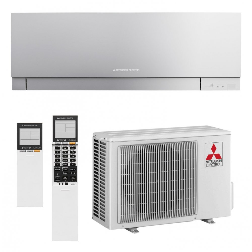 Кондиционер Mitsubishi Electric DESIGN INVERTER (Silver) MSZ-EF25VE3S/MUZ-EF25VE