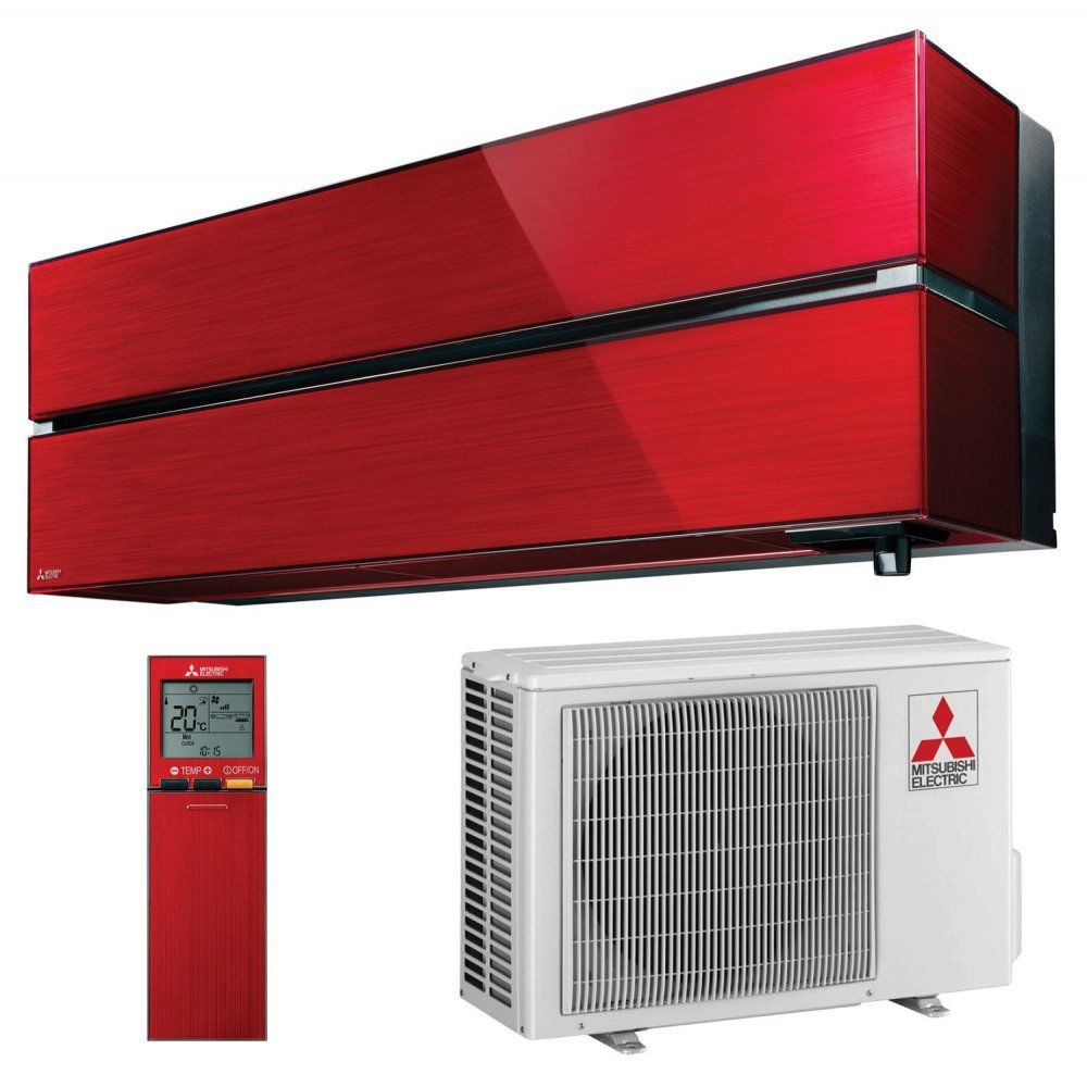 Кондиционер Mitsubishi Electric PREMIUM INVERTER ZUBADAN (Ruby Red) MSZ-LN25VGR-E1/MUZ-LN25VGHZ-ER1
