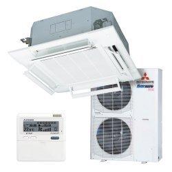 Кассетный 4-щелевой кондиционер Mitsubishi Heavy FDT100VG/FDC100VN Micro Inverter