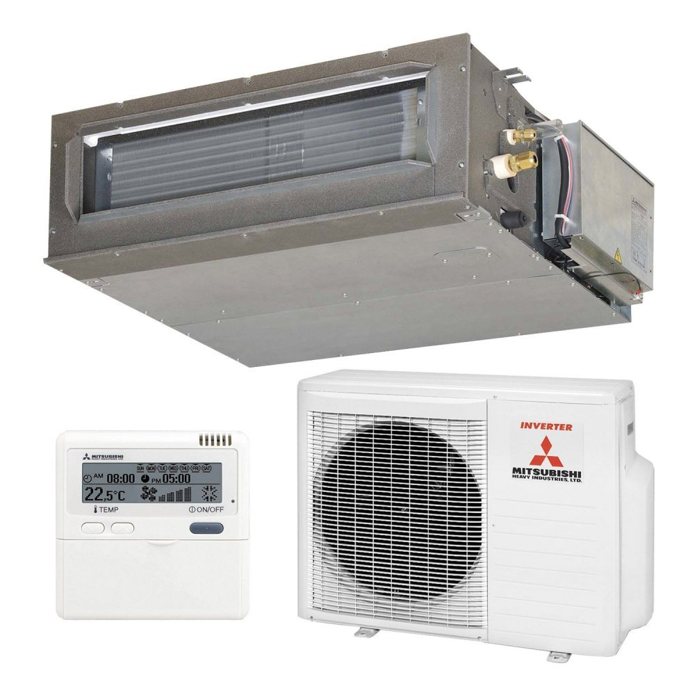 Канальный кондиционер Mitsubishi Heavy FDU71VF1/FDC71VNX Hyper Inverter (Высоконапорный)
