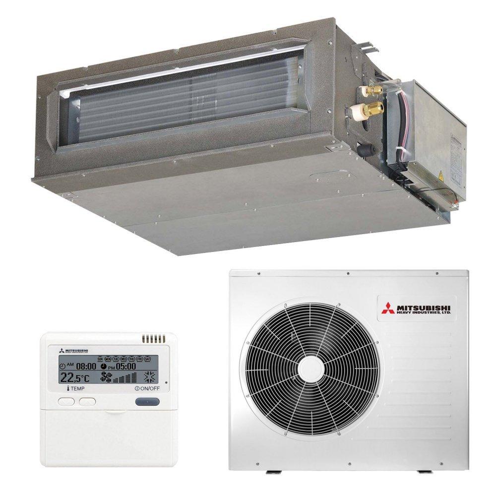 Канальний кондиціонер Mitsubishi Heavy FDUM100VF2/FDC100VS Micro Inverter (Середньонапірні)