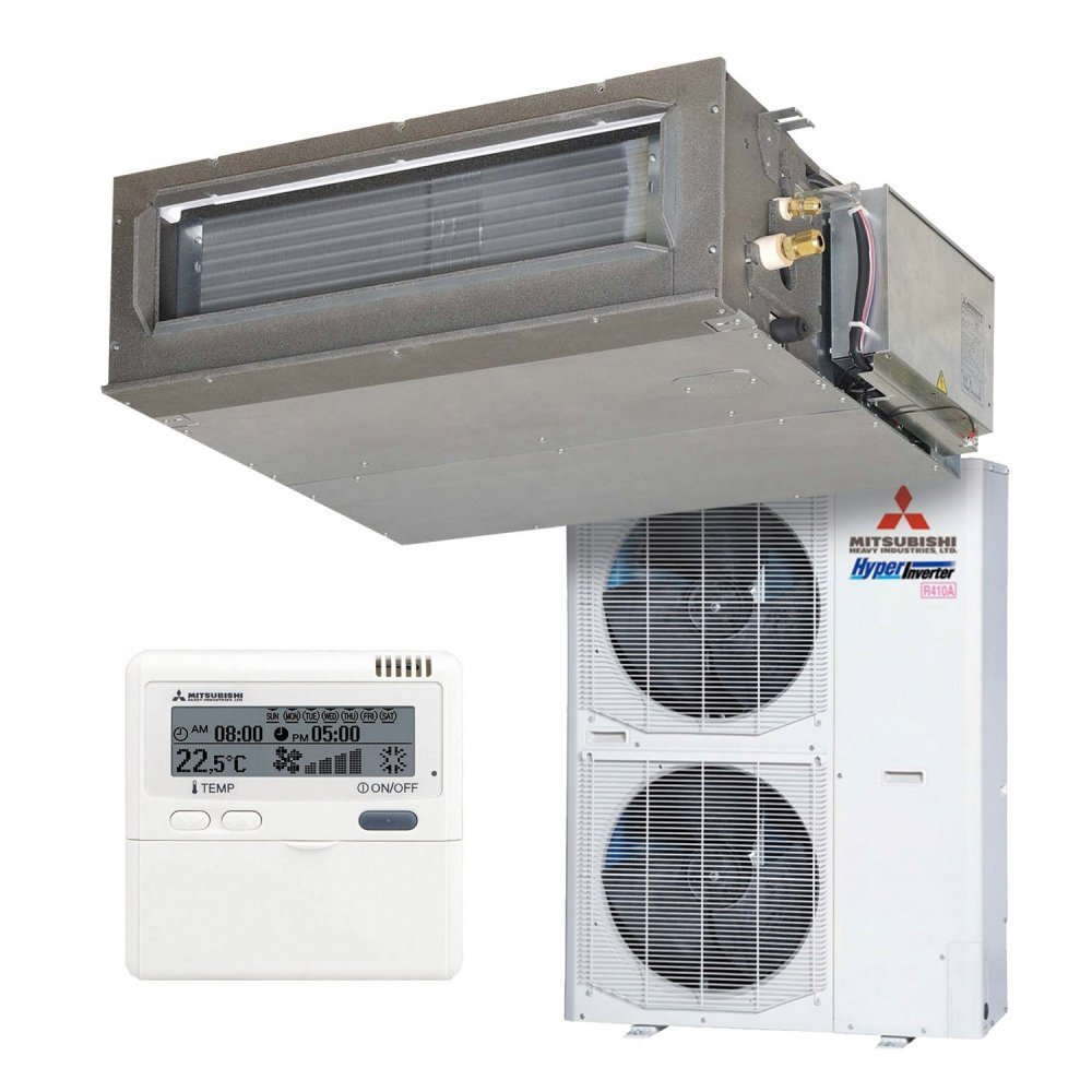 Канальный кондиционер Mitsubishi Heavy FDUM140VF/FDC140VSX Hyper Inverter (Cредненапорный)