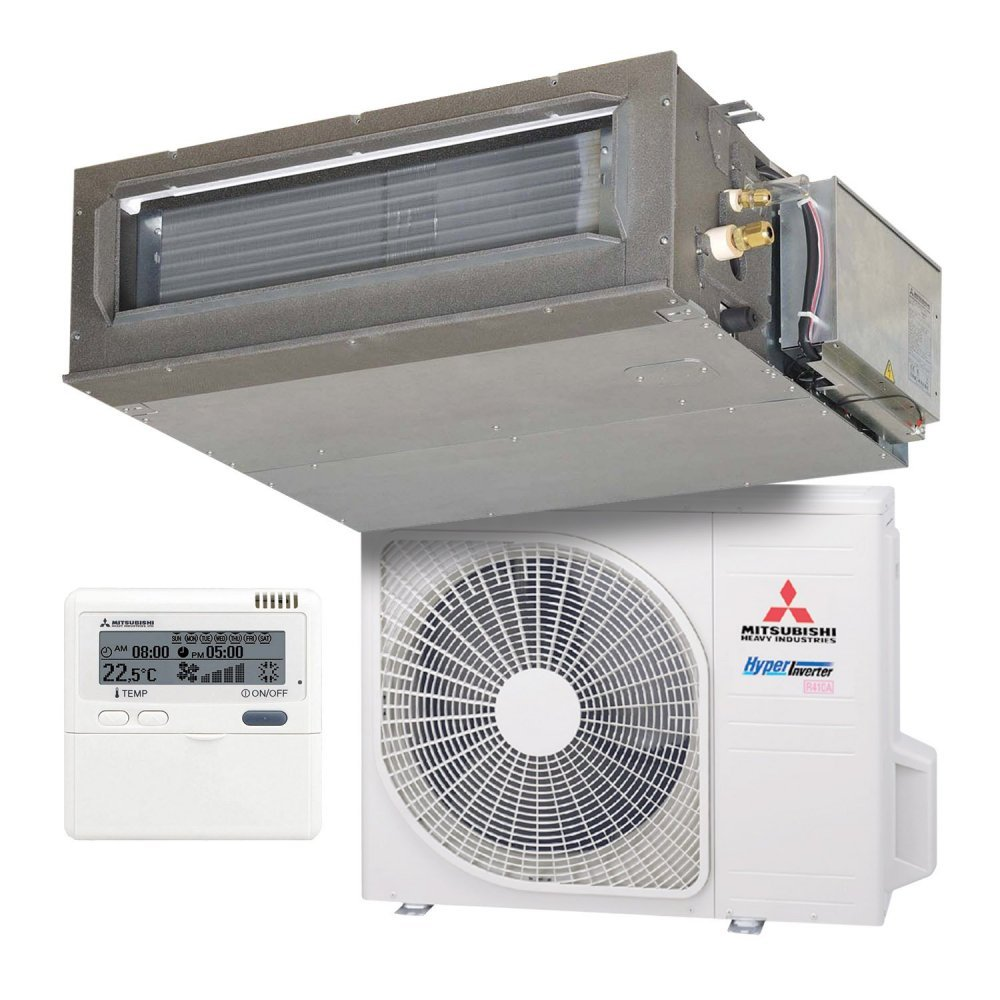 Канальный кондиционер Mitsubishi Heavy FDUM50VF/SRC50ZSX-S Hyper Inverter (Cредненапорный)