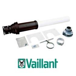 Коаксиальный вертикальный комплект Vaillant 60/100 мм