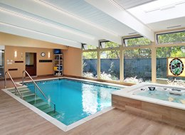 Изображение бассейна в частном доме