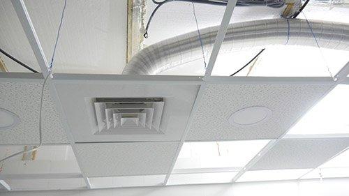 Изображение вентиляционной приточной воздухораспределительной решётки