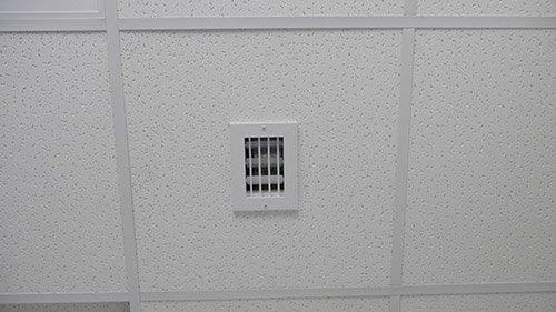 Изображение вытяжной вентиляционной решётки